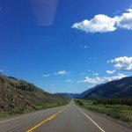 Highway 3 en route to Osoyoos