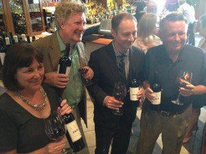 Chris Coletta, David Scholefield with Owen Knowlton