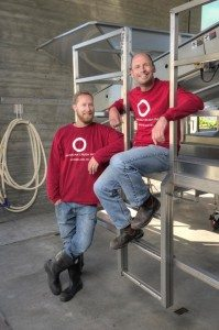OCP winemakers Matt Dumayne and Michael Bartier  - Lionel Trudel Photo