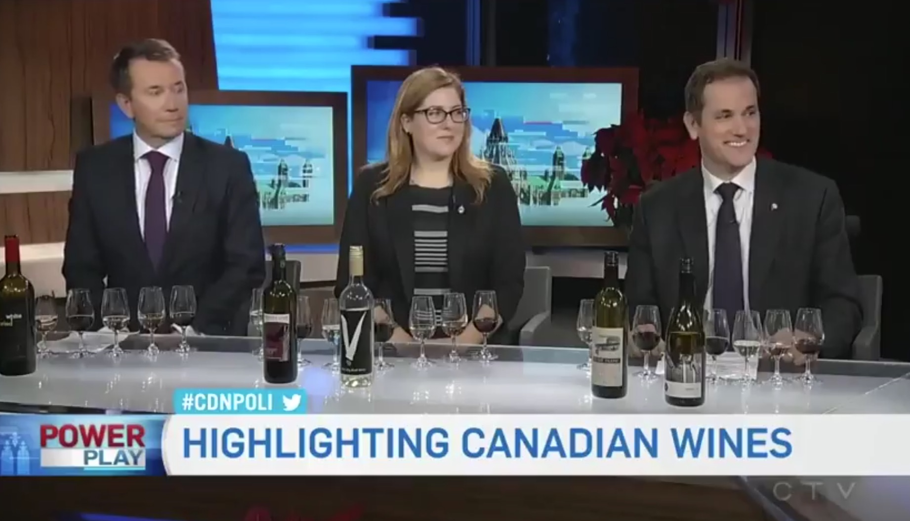 CTV Powerplay wine-panel